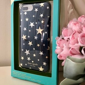 """🎀Kate Spade ♠️ IPhone """"Stars"""" Protective Case"""